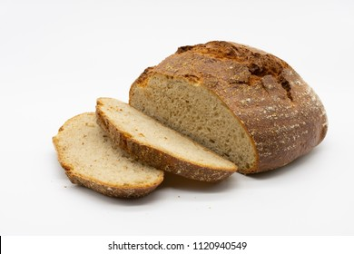 fresh crispy slices of bread