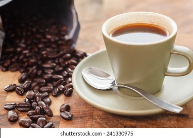 Fresh cup of coffee