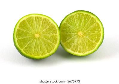 Fresh cut lime