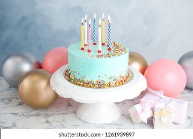 Marvelous Birthday Cake Table Images Stock Photos Vectors Shutterstock Funny Birthday Cards Online Overcheapnameinfo