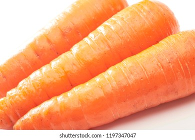Fresh and delicious carrots