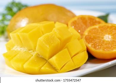 Fresh and delicious mango fruit