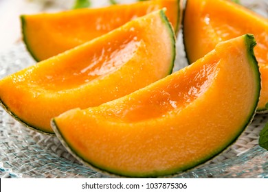 Fresh and delicious melon