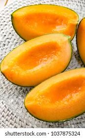 Fresh and delicious melon
