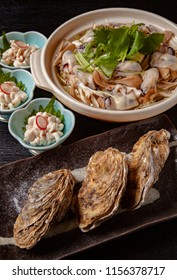 Fresh and delicious oyster dish