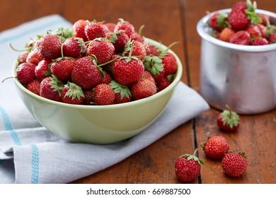 Fresh delicious strawberry