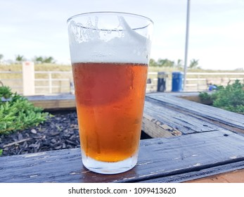 Fresh Draft Beer near the beach