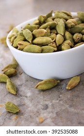 fresh dried cardamom cardamon seeds spice
