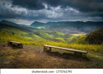 Fresh Dzukou Valley, Nagalan, India
