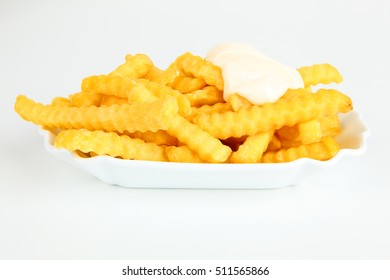 Fresh French fries in a bowl