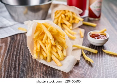Fresh fried french fries