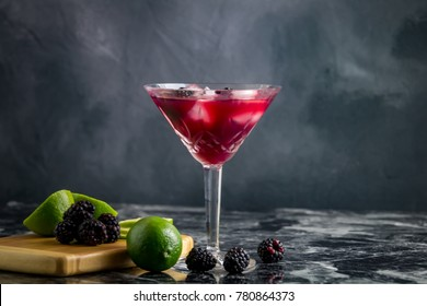 Fresh fruit and cocktails