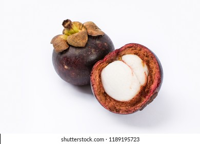 Fresh fruit mangosteen