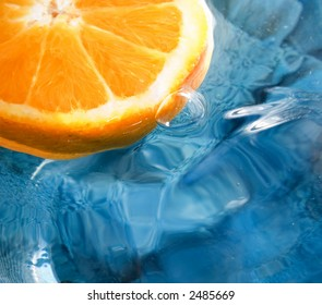 Fresh fruit, orange