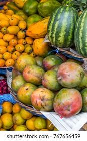 Fresh fruit in Sucre, Boliva