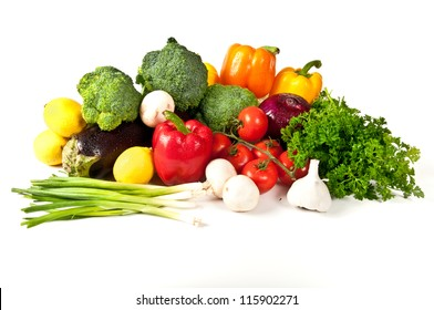 Fresh fruit and vegetable treasures