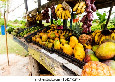 Fresh Fruits in the mountains of Jamaica