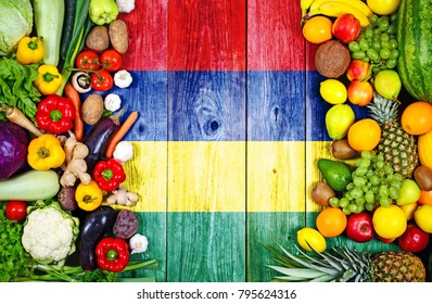Fresh fruits and vegetables from