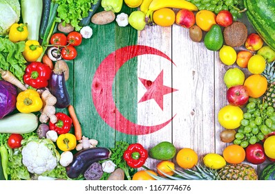 Fresh fruits and vegetables from Algeria