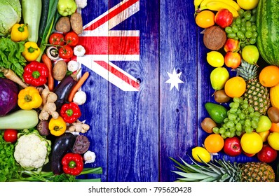 Fresh fruits and vegetables from Australia
