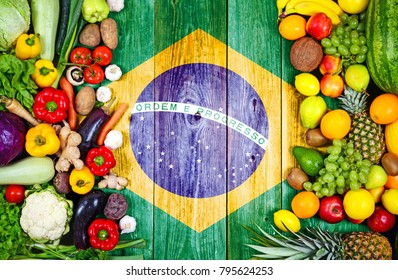 Fresh fruits and vegetables from Brazil