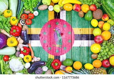 Fresh fruits and vegetables from Dominica