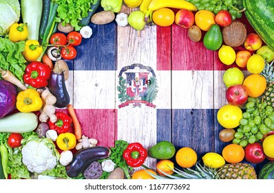 Fresh fruits and vegetables from Dominican Republic