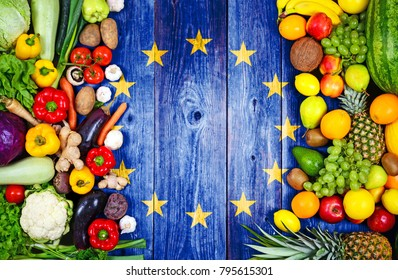 Fresh fruits and vegetables from European Union
