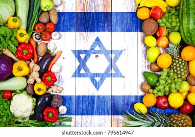 Fresh fruits and vegetables from Israel