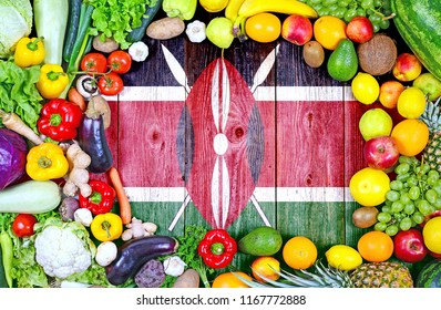 Fresh fruits and vegetables from Kenya