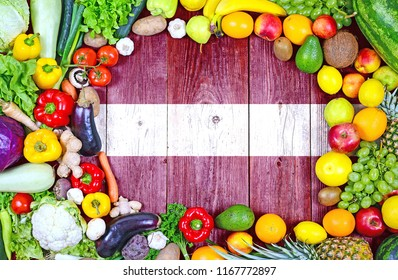 Fresh fruits and vegetables from Latvia