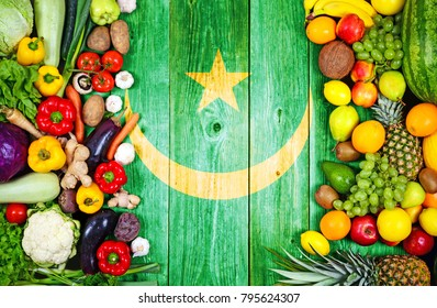Fresh fruits and vegetables from Mauritania