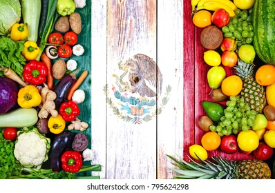 Fresh fruits and vegetables from Mexico