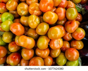 Fresh fruits and vegetables on the street market of Alghero, Sardinia, Italy