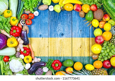 Fresh fruits and vegetables from Rwanda