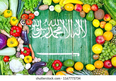 Fresh fruits and vegetables from Saudi Arabia