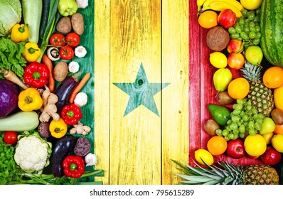 Fresh fruits and vegetables from Senegal
