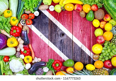 Fresh fruits and vegetables from Trinidad and Tobago