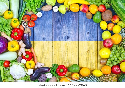 Fresh fruits and vegetables from Ukraine