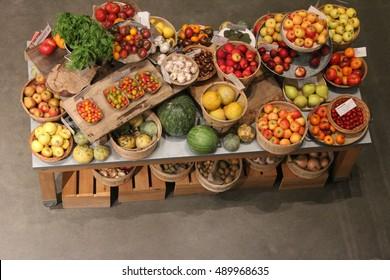 fruit display images stock photos vectors shutterstock