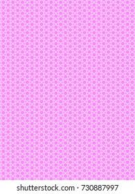 Fresh geometric pink pattern.