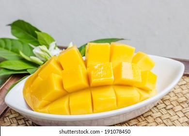 Fresh golden mango