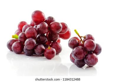 fresh grape isolated on white background