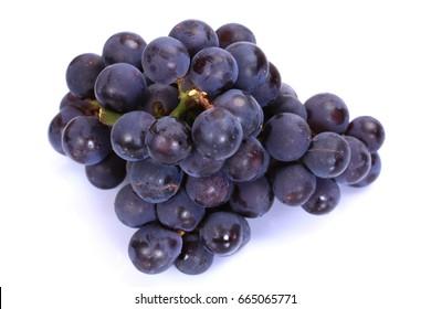 Fresh   grapes   isolated on white background