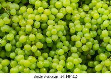 Fresh Green Grape Brunch in Fresh Market