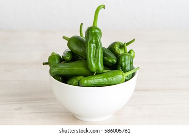 Fresh green pepper