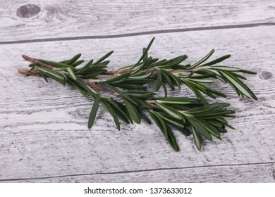Fresh green Rosaemary branch - spice for cooking