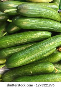 Fresh greenhouse cucumbers
