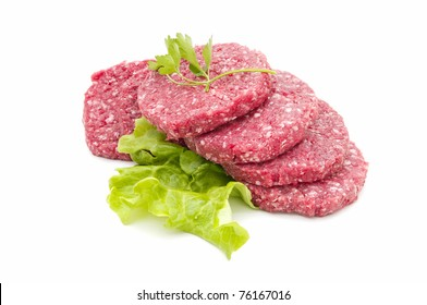 fresh hamburger
