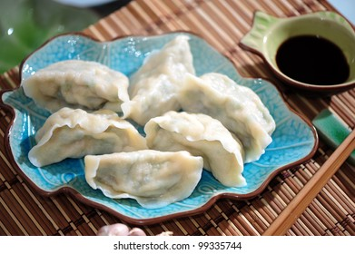 Fresh hand made Chinese dumplings